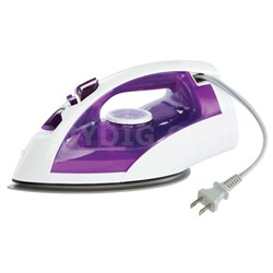 Steam/Dry Iron with U-Shape Titanium Coated Soleplate - NI-E650TR - OPEN BOX