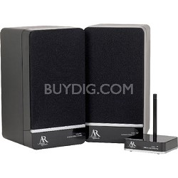 AW880 Portable Wireless Indoor Stereo Speakers (Pair)