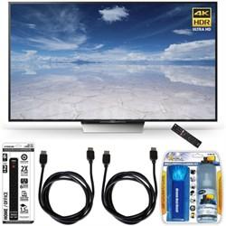XBR-65X850D 65-Inch Class 4K HDR Ultra HD TV Accessory Bundle