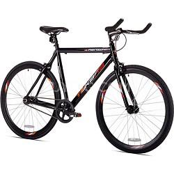 """Black Renzo 22.5""""/56cm 700c Fixie Road Bike (32718)"""