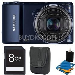 WB250F 14.2 MP SMART Camera Black 8GB Kit