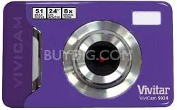 Vivicam V 5024 Digital Camera (Purple)