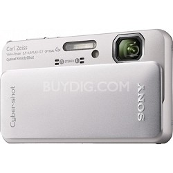 Cyber-shot DSC-TX10 Silver Digital Camera - OPEN BOX
