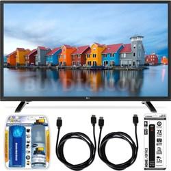 43LH5000 43-Inch Full HD 1080p LED TV Essential Accessory Bundle
