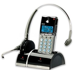 Digital Wireless Headset/Handset Combo