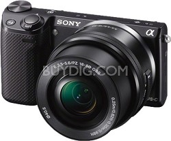 NEX-5TL Compact Interchangeable Lens Digital Camera with 16-50mm Power Zoom Lens
