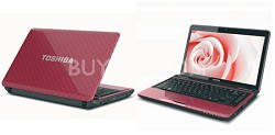 Satellite L735-S3220RD 13.3 Inch Matrix Red Notebook Intel Core i5-2410M