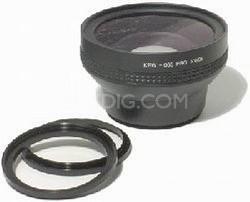DS-65CV-00 .65x Wide Angle Converter Lens - for Sony DCR-VX1000 & similar