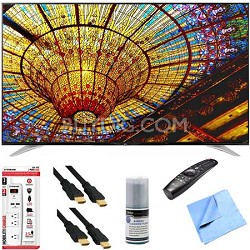 65UF7700 - 65-Inch 240Hz 2160p 4K Smart LED UHD TV Plus Hook-Up Bundle
