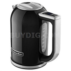 1.7-Liter Electric Kettle in Onyx Black - KEK1722OB