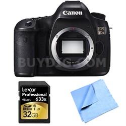 EOS 5DS 50.6MP Digital SLR Camera (Body Only) Lexar Memory Bundle