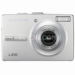 "L210 10MP 2.5"" LCD Digital Camera (Silver)"