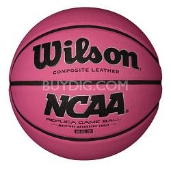 """NCAA Replica Game Ball 28.5"""" Pink Basketball"""