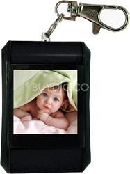 "DF15-BK 1.5"" Keychain Digital Photo Frame - Holds up to 107 Images (Black)"