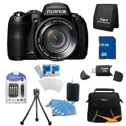 FinePix HS25EXR 16MP BSI EXR CMOS Digital Camera 16 GB Bundle