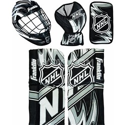 NHL Mini Hockey Goalie Equipment and Mask Set - OPEN BOX