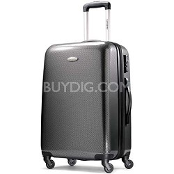 "Winfield Fashion Lightweight 28"" Hardside Spinner Luggage - Black/Silver"