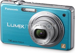 DMC-FH3A LUMIX 14.1 Megapixel Digital Camera (Blue)