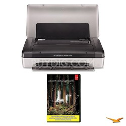 Officejet 100 Mobile Printer with Photoshop Lightroom 5 MAC/PC