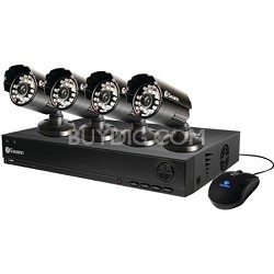 DVR8-1000 8 Channel D1 Digital Video Recorder & 4 x PRO-530 Cameras SWDVK-810004