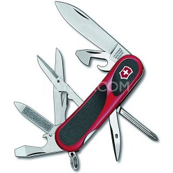 EvoGrip RED/BLK 16 Swiss Army Knife