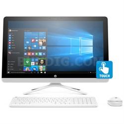 """24-g030 6th gen Intel Core i3-6100U 1TB 7200RPM 23.8"""" All-in-One PC"""