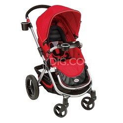 Contours Options 4 Wheeler Stroller - Ruby