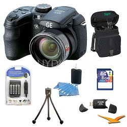 Power Pro X500-BK 16 MP with 8GB Camera Bundle (Black)