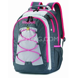 Keenan Backpack GREY/PINK
