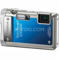 Stylus Tough 8010 Waterproof Shockproof Freezeproof Camera (Blue) - REFURBISHED