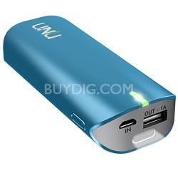 Enerpak Tube 5000mAh USB External Battery Pack Blue