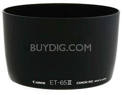 ET-65III Lens Hood for EF 85mm f/1.8, 100mm f/2.0, 135mm f/2.8 SF & 100-300mm