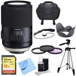SP 90mm f/2.8 Di VC USD 1:1 Macro Lens for Nikon - Prime SP Macro Pro Bundle