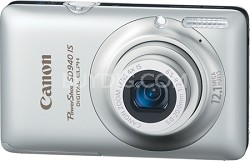 PowerShot SD940 IS Digital ELPH Digital Camera (Silver)