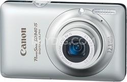 PowerShot SD940 IS Digital ELPH Digital Camera (Silver)