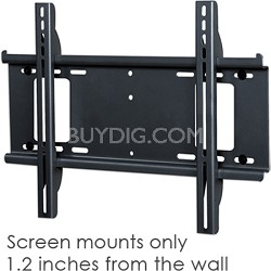 Flat Smart Mount for Flat Panel TVs (Black) - OPEN BOX