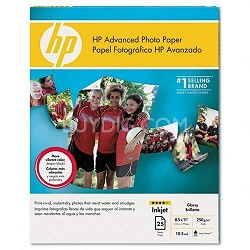 Advanced Photo Paper, Glossy (25 Sheets, 8.5 x 11 Inches)