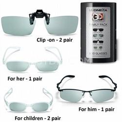 AG-F216 3D Glasses - Family Pack