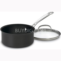 1.5 Quart Hard-Anodized Sauce Pan (619-16)