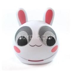 Portable Mini Character Speakers for iPod/iPhone/iPad/MP3 - Rabbit