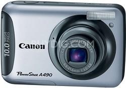 PowerShot A490 (Silver) 10 Megapixel Camera Refurbished