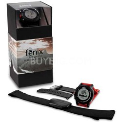 Fenix GPS Watch with Heart Rate Monitor Performer Bundle
