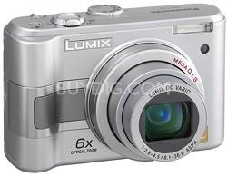 DMC-LZ5S (Silver) Lumix 6-Megapixel Compact Digital Camera w/ 6x Optical Zoom