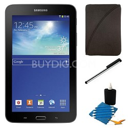 "Galaxy Tab 3 Lite 7.0"" Black 8GB Tablet and Case Bundle"
