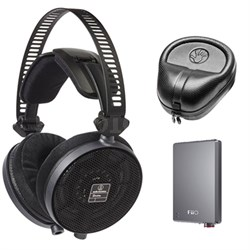 ATH-R70X Professional Open-Back Reference Headphones Deluxe Bundle