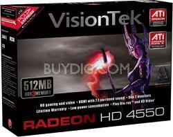Radeon HD4550 512MB PCIe  Model # 900253