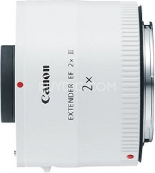 EF 2.0X III Telephoto Extender for Canon Super Telephoto Lenses