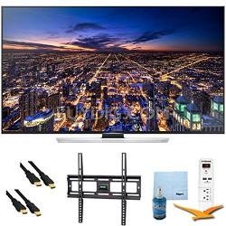 "60"" Ultra HD 4K Smart 3D UHD TV Wi-Fi Plus Mount & Hook-Up Bundle - UN60HU8550"
