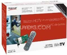 Win TV-HVR-1250 Pci Exp Tv Dual Tuner Pcie Atsc HD ( Canada Only,  Model 1201 )