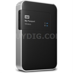 1TB My Passport Wireless External Hard Drive - OPEN BOX